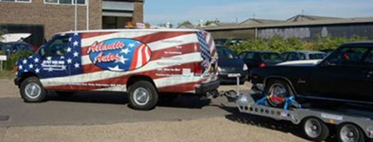 Towing & hauling with American vehicles - Atlantic Autos
