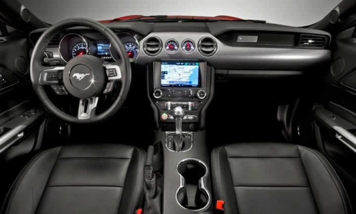 Ford Mustang Interior - Atlantic Autos Bedford UK